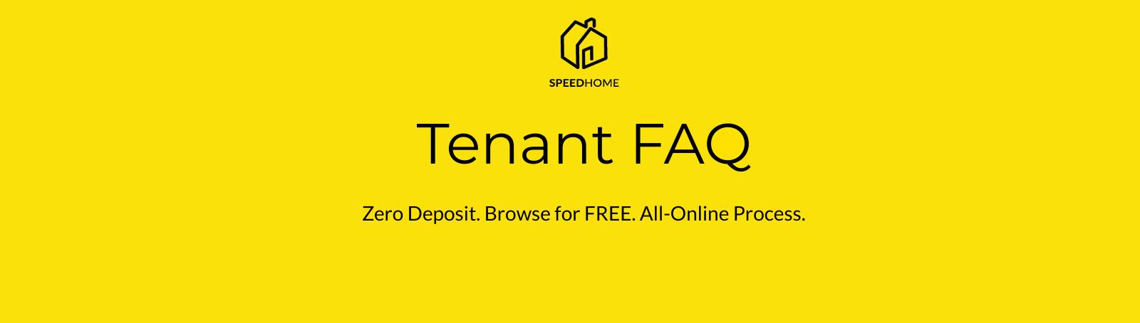 Tenant FAQ