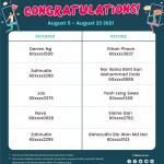 august 3rd to 23rd referral winner list